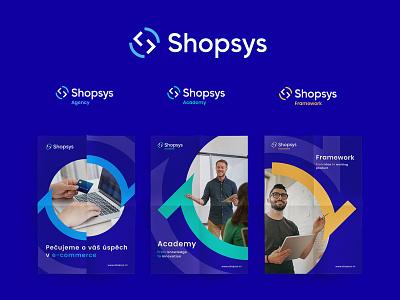 Shopsys - Rebranding and web design - 2 illustration logo e-commerce dobies mateusz klein shopsys branding gliwice poland dawidskinder challenge