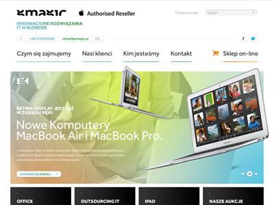 Gmagic  gmagic skinder dawidskinder web layout design zabrze poland i-sklep dawidskinder.com