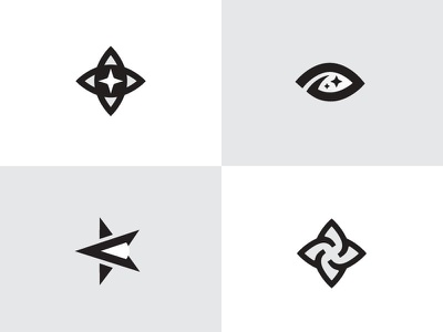 Addastry star design eye mark logodesign logos branding brand logotype logo