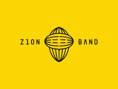 Z1ON BAND logo design artwork for fun logomark olqinian sen armenia creative type character head band logotype logo musican music