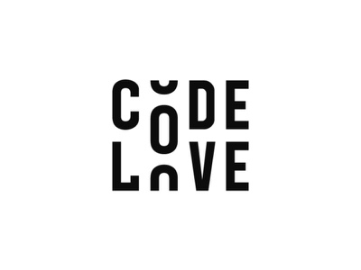Code Love clothing typography type code love clothes logos logo brand