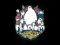 Phantom graff tee