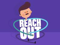 'Reach out' branding