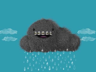 Rain...again character design c4d cinema 4d
