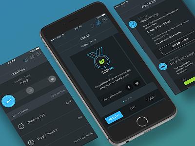 Homeview App ui mobile