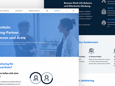 Wordpress website doctors healthcare health responsive visual ux ui wordpress website
