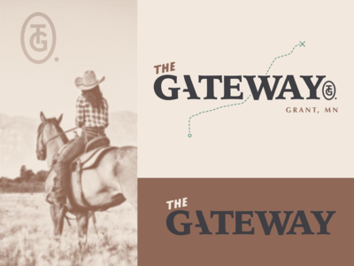 The Gateway Logo Options 1.2