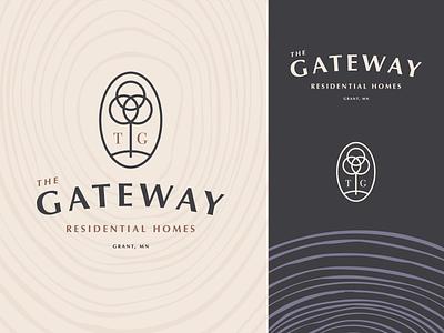 The Gateway Logo Option 4.2 vector gateway home residential grant key tree branding design type mn letter typography icon logo mark