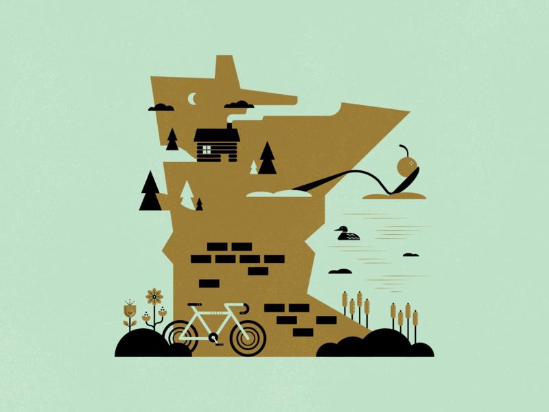 Minnesota Illustration