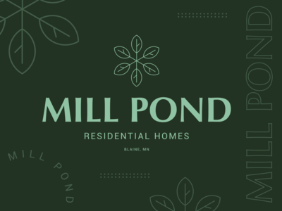 Mill Pond Logo Concept 01