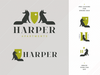 Harper Apartments Final Logo Family