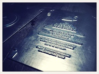 business cards printing plates