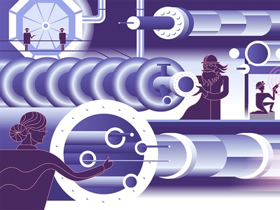 accelerator science, illustration segment