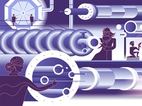 accelerator science, illustration segment