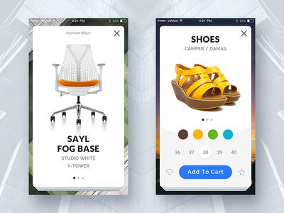 Mapogo UI Kit. E-commerce