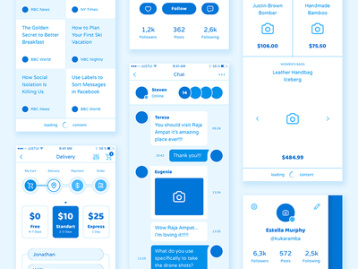 Liberty Mobile Wireframe Kit sketch ps ui elements drawing app screens kit ui mobile liberty wireframe