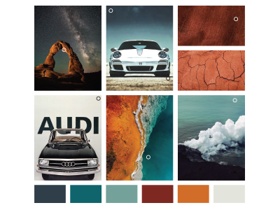 Rikansrud Photography Mood Board & Color Palette