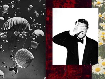 TCH Collage identity design mood board branding
