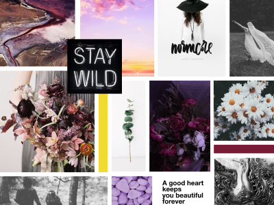 The Classy Hippie Mood Board