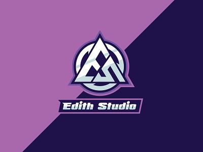 ES Gaming Studio Logo colorful gaming logo design illustration vector gaming studio logo studio logo gaming logo minimal logo minimalist graphic design logo maker logo es logo initials logo letter logo text logo