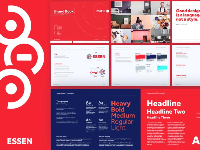 ESSEN rebranding style guide