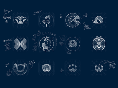 App icon sketches android grid logo inspiration game app icon games app games logo minimal flat icon app ios vector identity ui icon icon design app ui branding illustration app icon app icon design