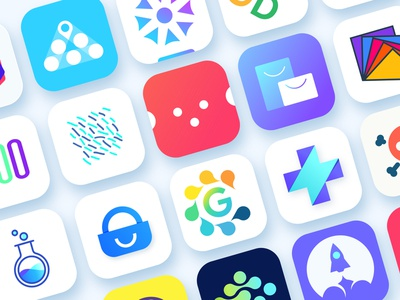 App icons & Logosymbols pack app icons android ios14 app icon template template minimal colorful flat vector web andriod ios ui illustration logo branding app icon design ios app icon app icon