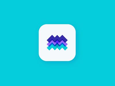 Trimount app icon managment management app minimal flat app ui identity triangle finance mountain branding app logo app icon logo logodesign logo logo mark app icon