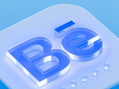 bechance 3D app icon minimal ios icons app icon app icon ios icon app cinema4d 3d animation 3d art logo branding 3d