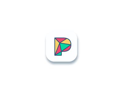 P geometric symbol concept