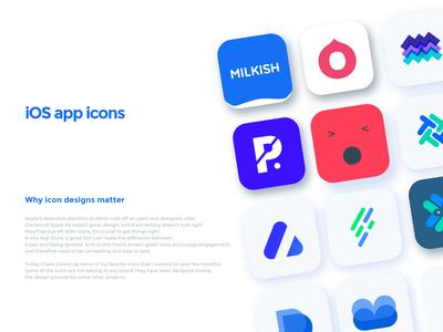iOS app icon collection