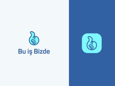 Bu iş Bizde logo design