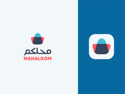 Mahalkom e-commerce website logo design