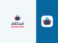 Mahalkom e-commerce website logo design
