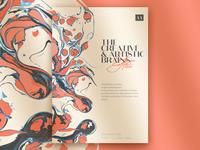 Eryn Allen - Event's bi-fold brochure design