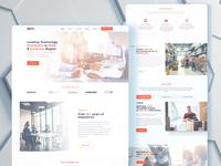 web redesign for delta communication