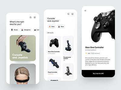 Tech e-commerce App 2020 trend ios interface clean minimal tech shop ecommerce cards dribbble dashboard design app ux ui