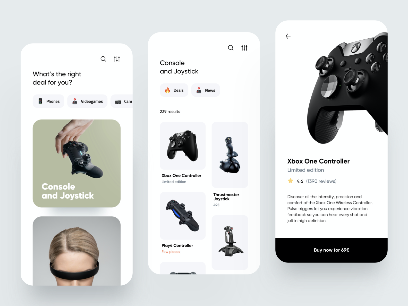 Tech e-commerce App