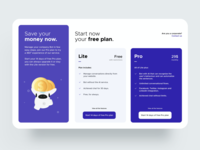 Pricing Page Web illustration flat website payment plans pricing page pricing web design web ios dashboard ux design app ui