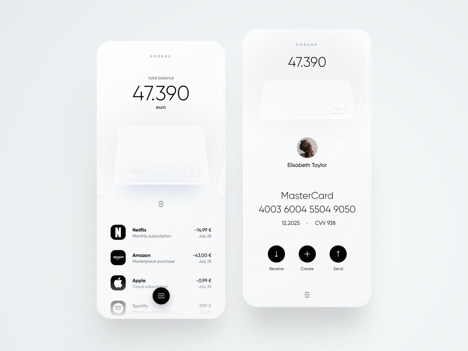 Nobank Mobile App
