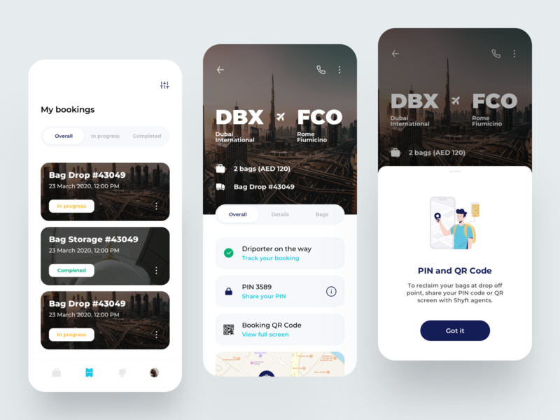 Bookings - Travel App traveling 2020 trends booking travel app travel illustration flat dribbble dashboard ux design app ui