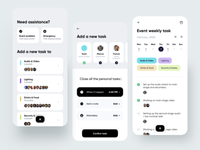 Task App action task list task manager task dribbble minimal ios dashboard ux design app ui