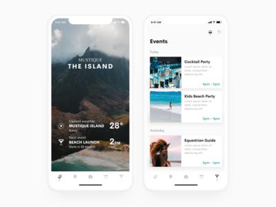 Mustique Island App