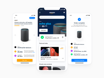 Amazon Refresh Design