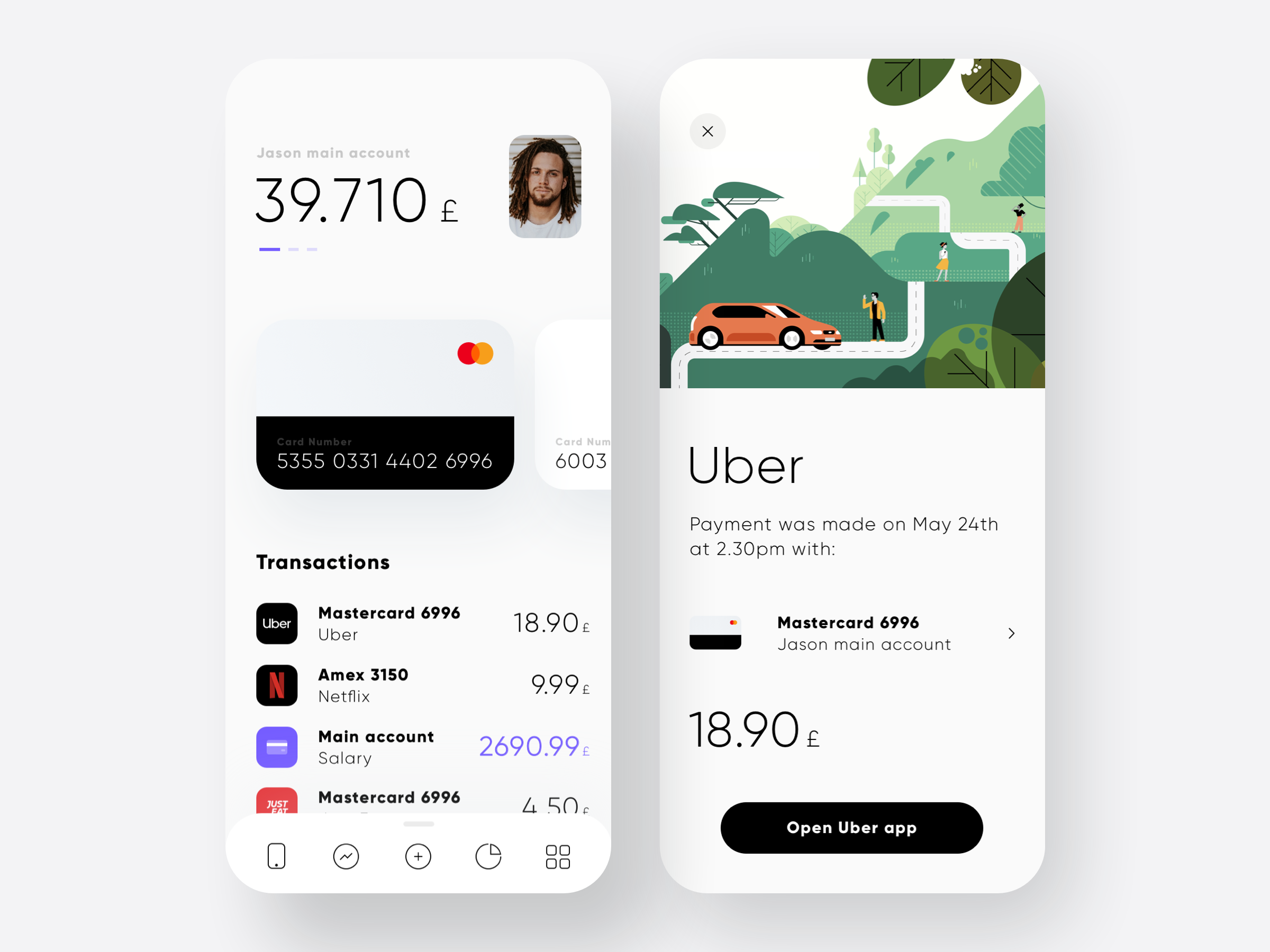 Bank app exploration