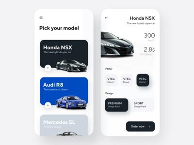 Car shop app