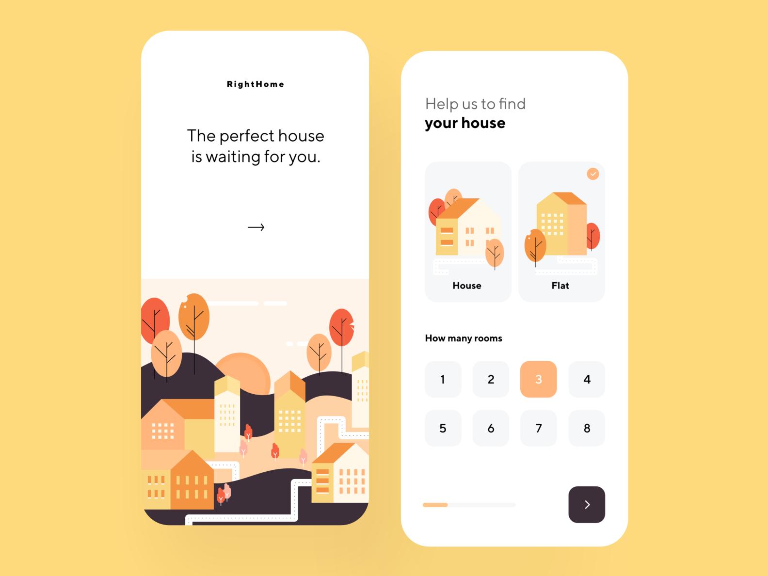 Rent Houses App
