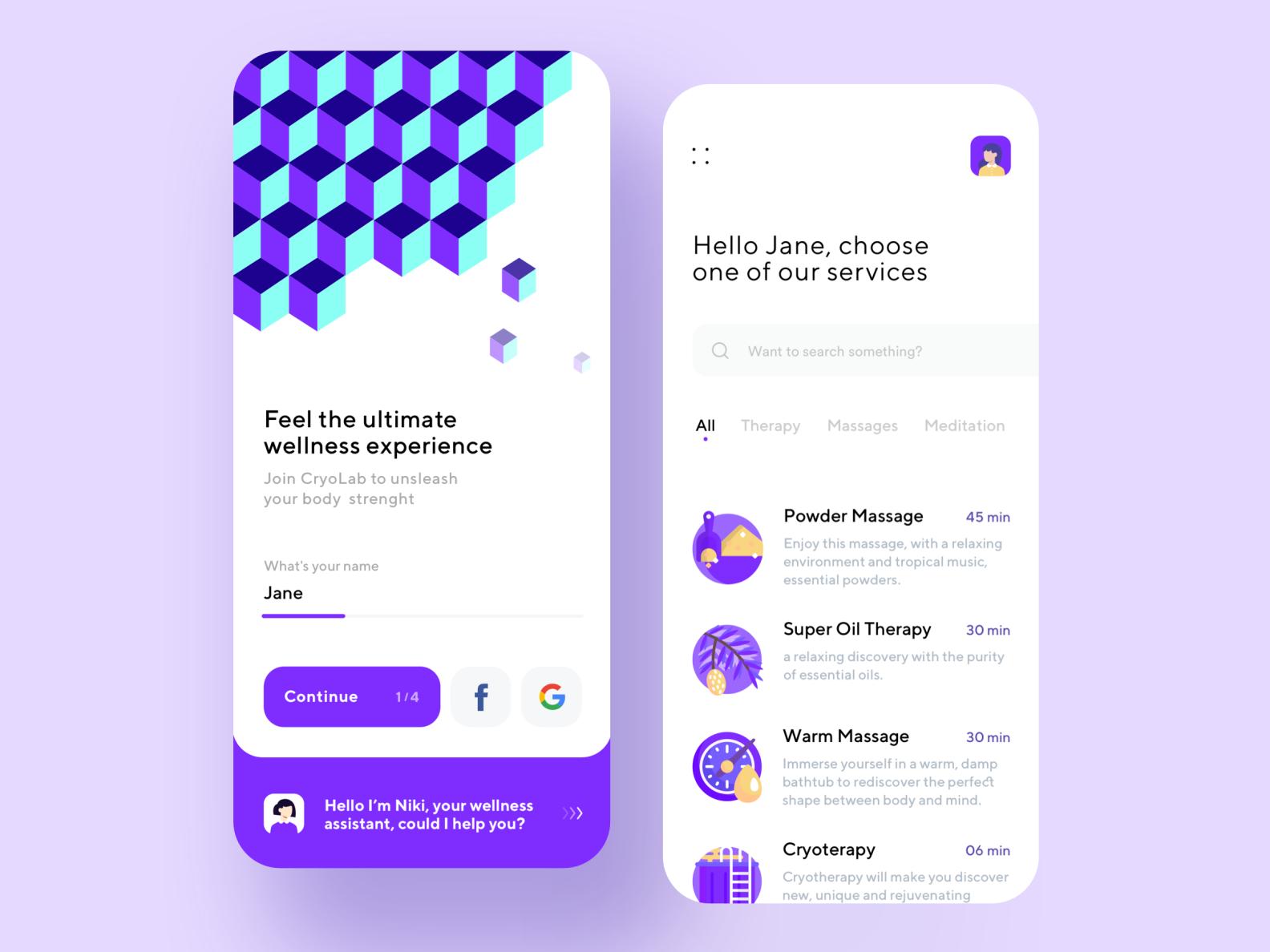 Wellness App