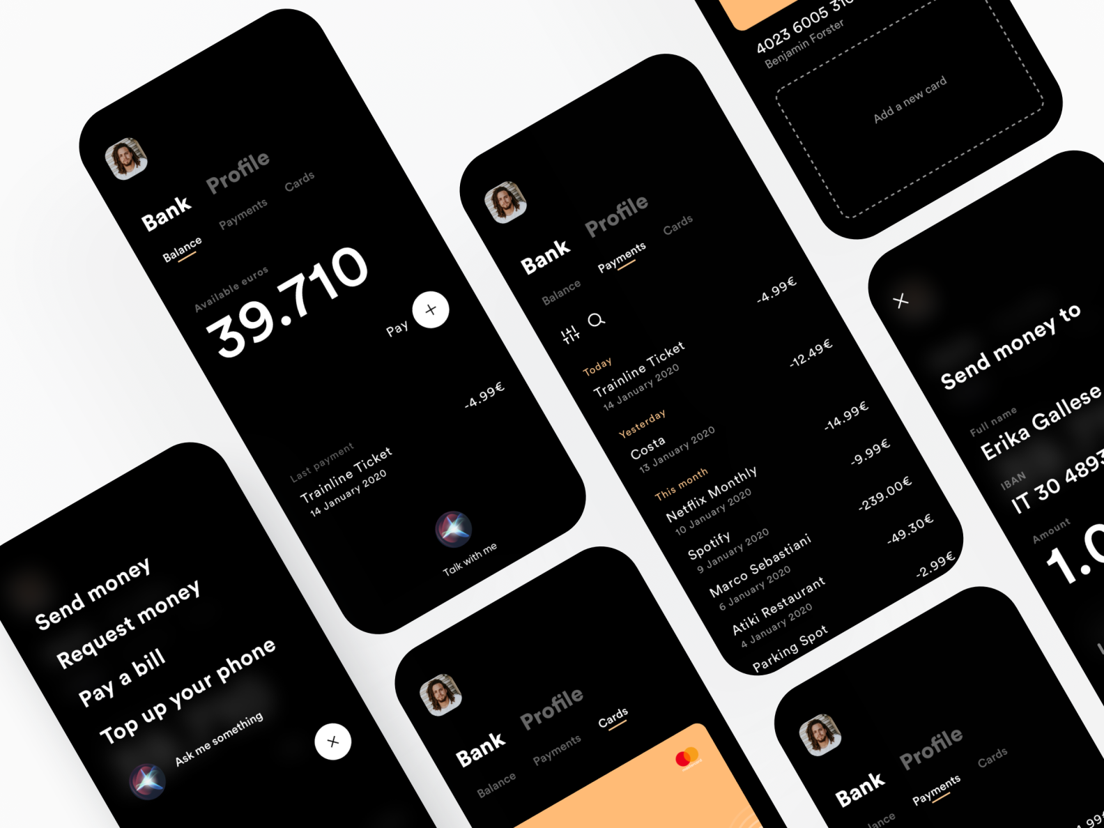 Minimal Bank App