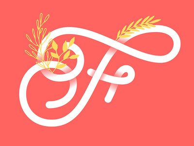 F | 36 Days of Type f vector typo typography type typegang letters letter lettering illustration 36dayoftype
